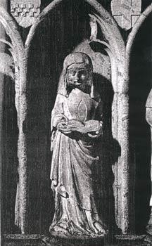 Beginenfigur am Kölner Dom